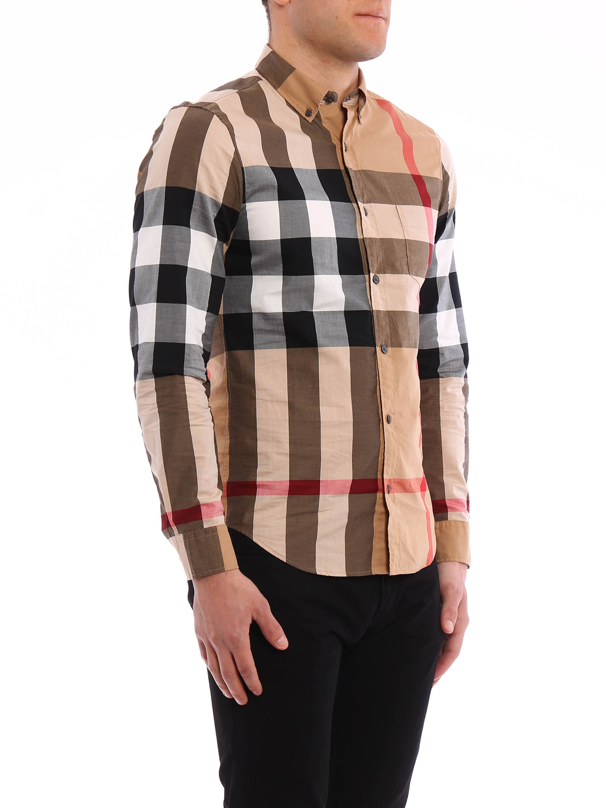 Burberry - Chemise Fred Pour Homme - Chemises - 40083851   iKRIX.com 2aeb28a4f74