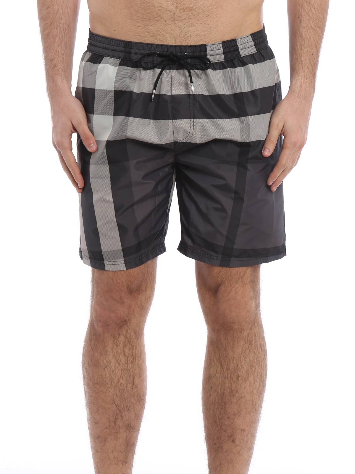 3a8a7c42f0 iKRIX BURBERRY: Swim shorts & swimming trunks - Check pattern swimming  shorts