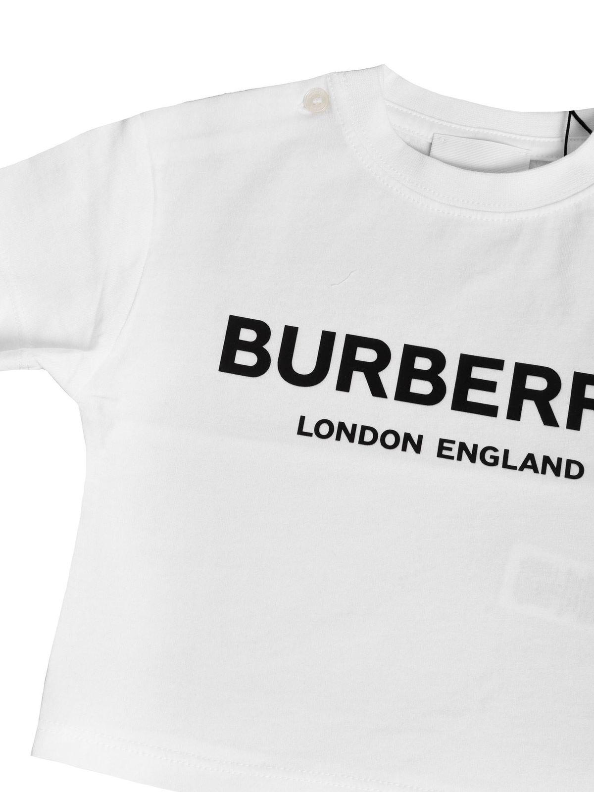 Burberry t shirt with logo print