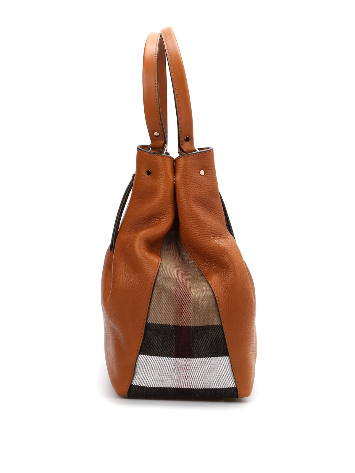 8ab27ab99ec7 Burberry - Medium tote with check detail - totes bags - 39636401 ...