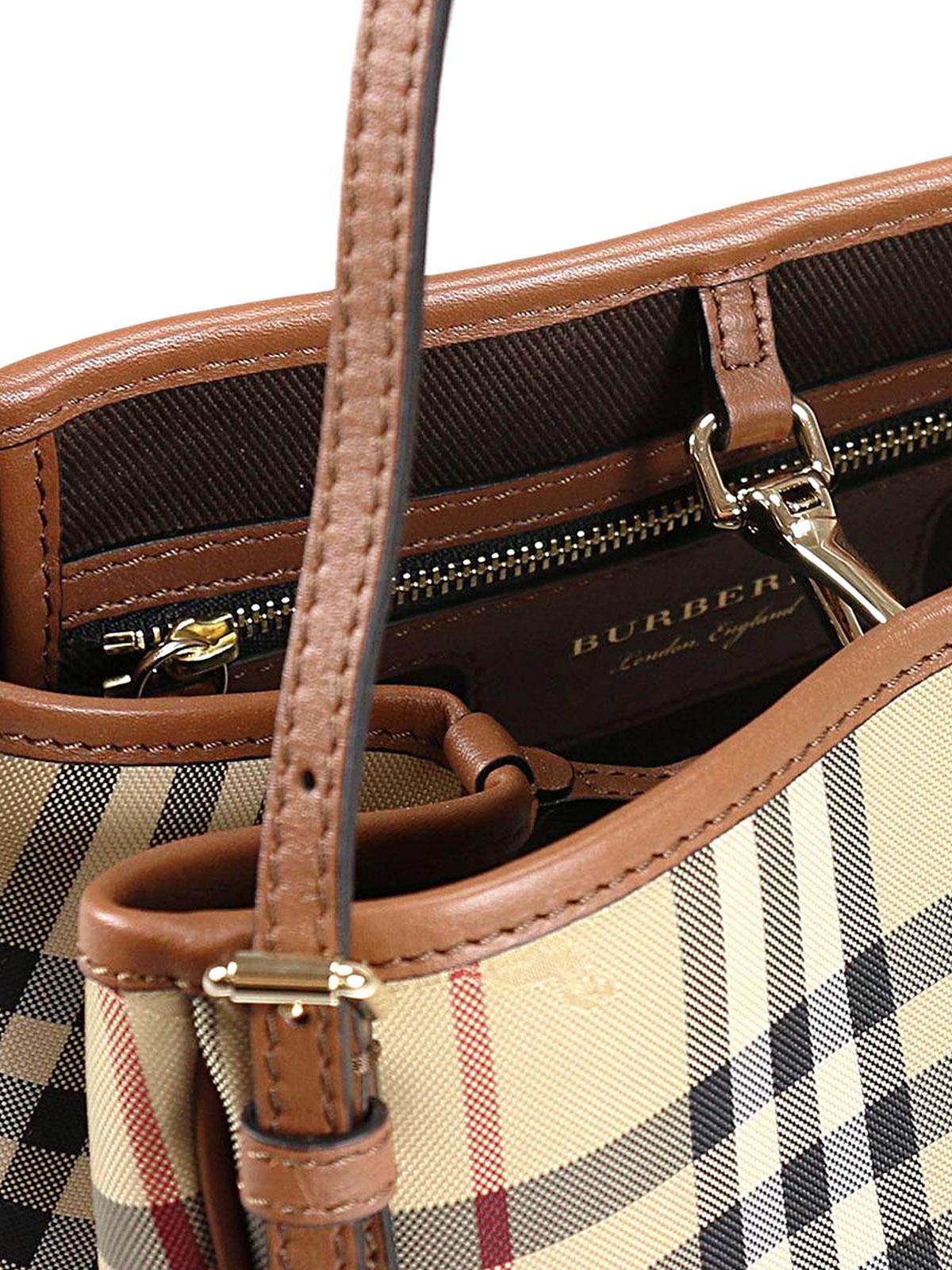 f1c4e3c447ff Burberry - Mini Canter Horseferry check tote - totes bags - 40223691