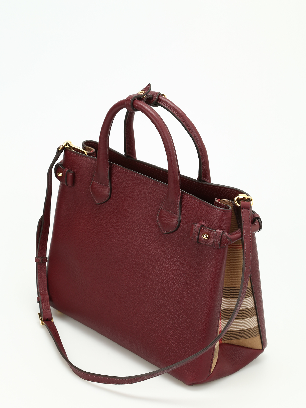 095a0aadada9 Burberry Banner Medium Leather Shoulder Bag   Burberry the banner medium  leather bag totes bags