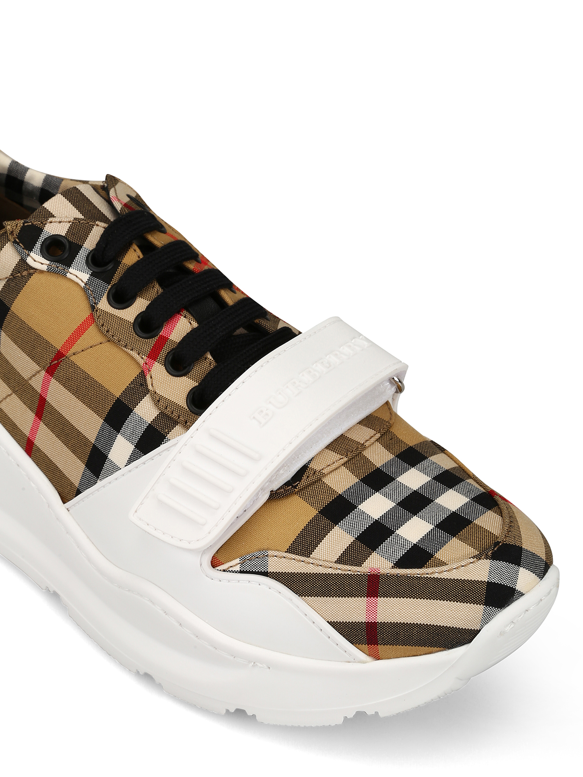 Regis canvas and rubber sneakers