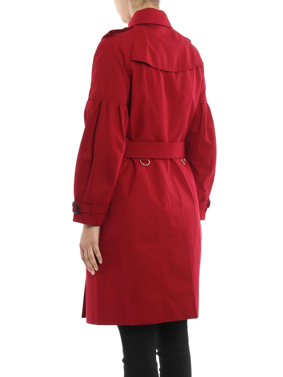 burberry trenchcoat fur damen rot trenchcoats 4043804. Black Bedroom Furniture Sets. Home Design Ideas
