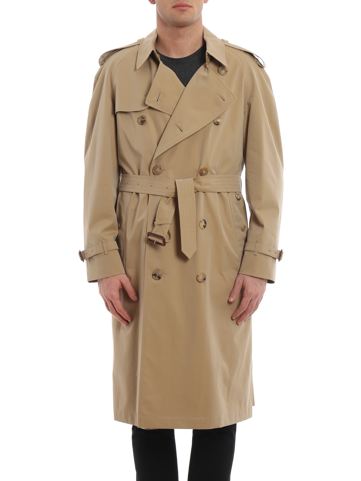 classic style extremely unique lovely luster Burberry - Westminster cotton gabardine trench coat - trench ...