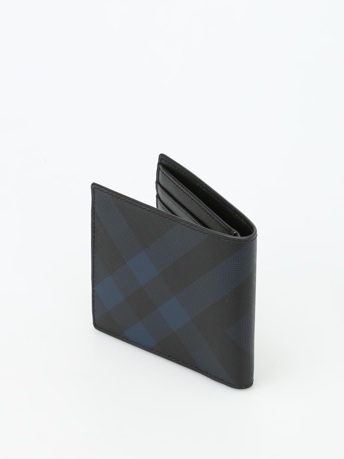 3718f3d22c1fd iKRIX BURBERRY  Portemonnaies und Geldbörsen - Portemonnaie Fur Herren -  Blau