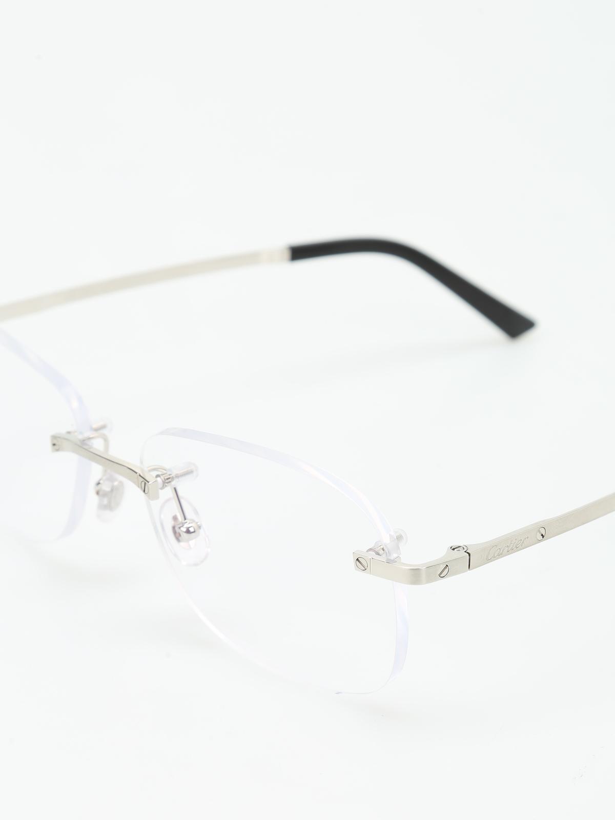 bambino la più grande selezione di Prezzo di fabbrica 2019 Cartier - Occhiali da vista Santos de Cartier - occhiali ...