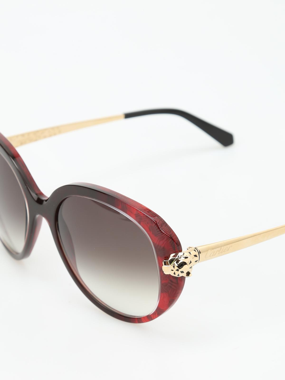36cdd9c892 iKRIX CARTIER  sunglasses - Panthère Wild de Cartier sunglasses