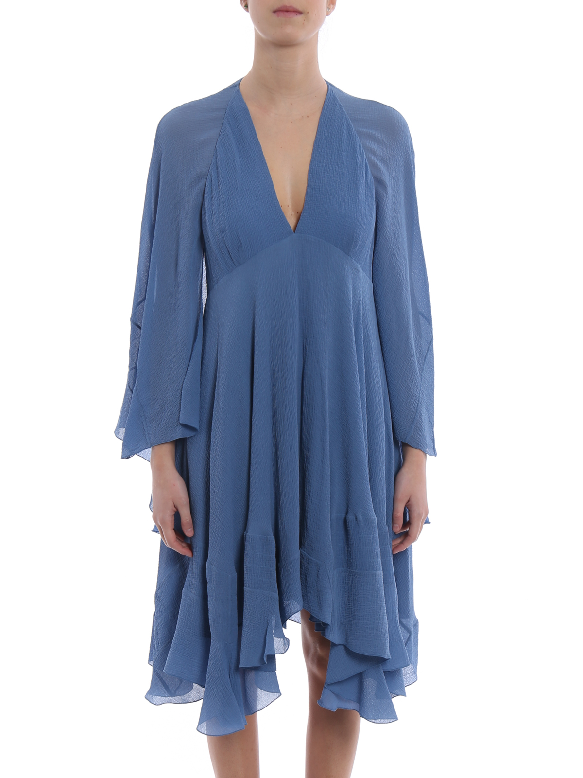 chloe' - kurzes kleid - hellblau - kurze kleider