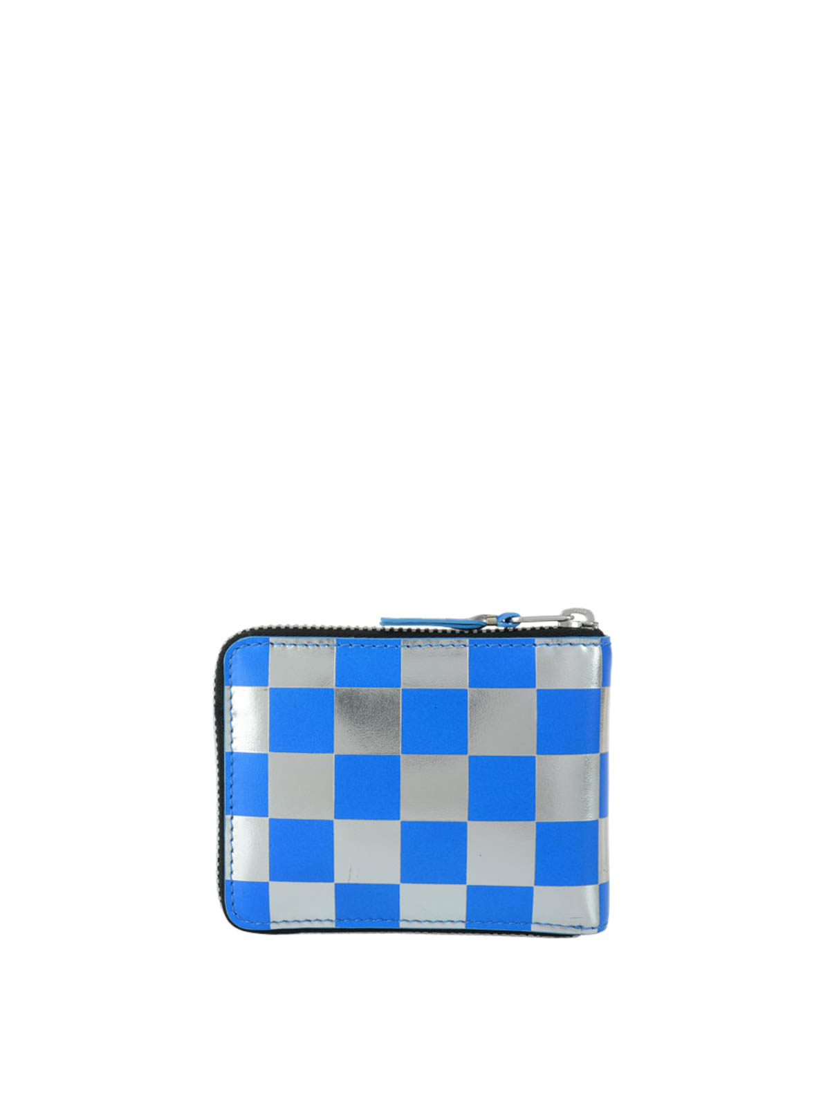 check small. IKRIX Comme Des Garcons: Wallets \u0026 Purses - Optical Check Leather Small Wallet M