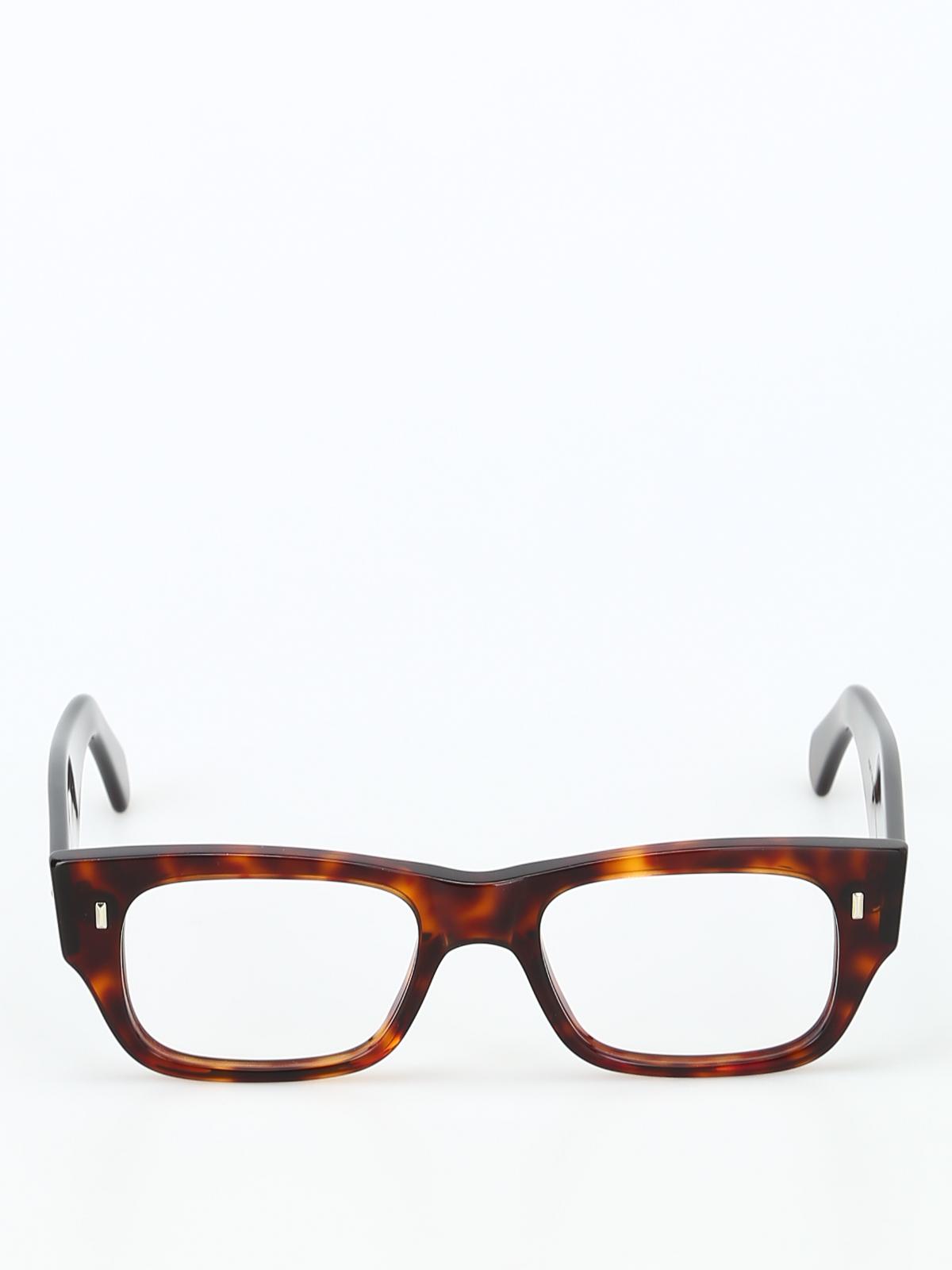 f52df6f6d3f iKRIX CUTLER AND GROSS  Glasses - Flattened thick tortoise frame glasses