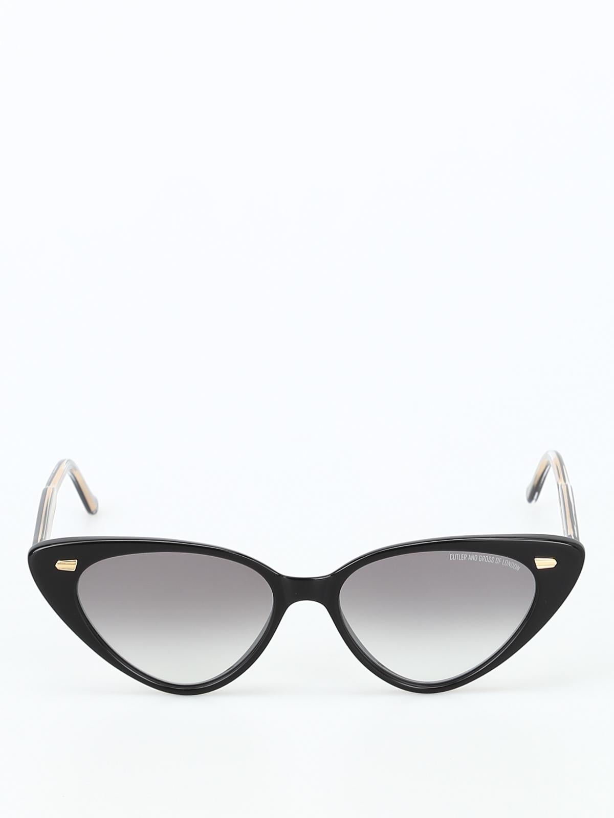 50c2db4856f iKRIX CUTLER AND GROSS  sunglasses - Super trendy faded lens cat-eye  sunglasses