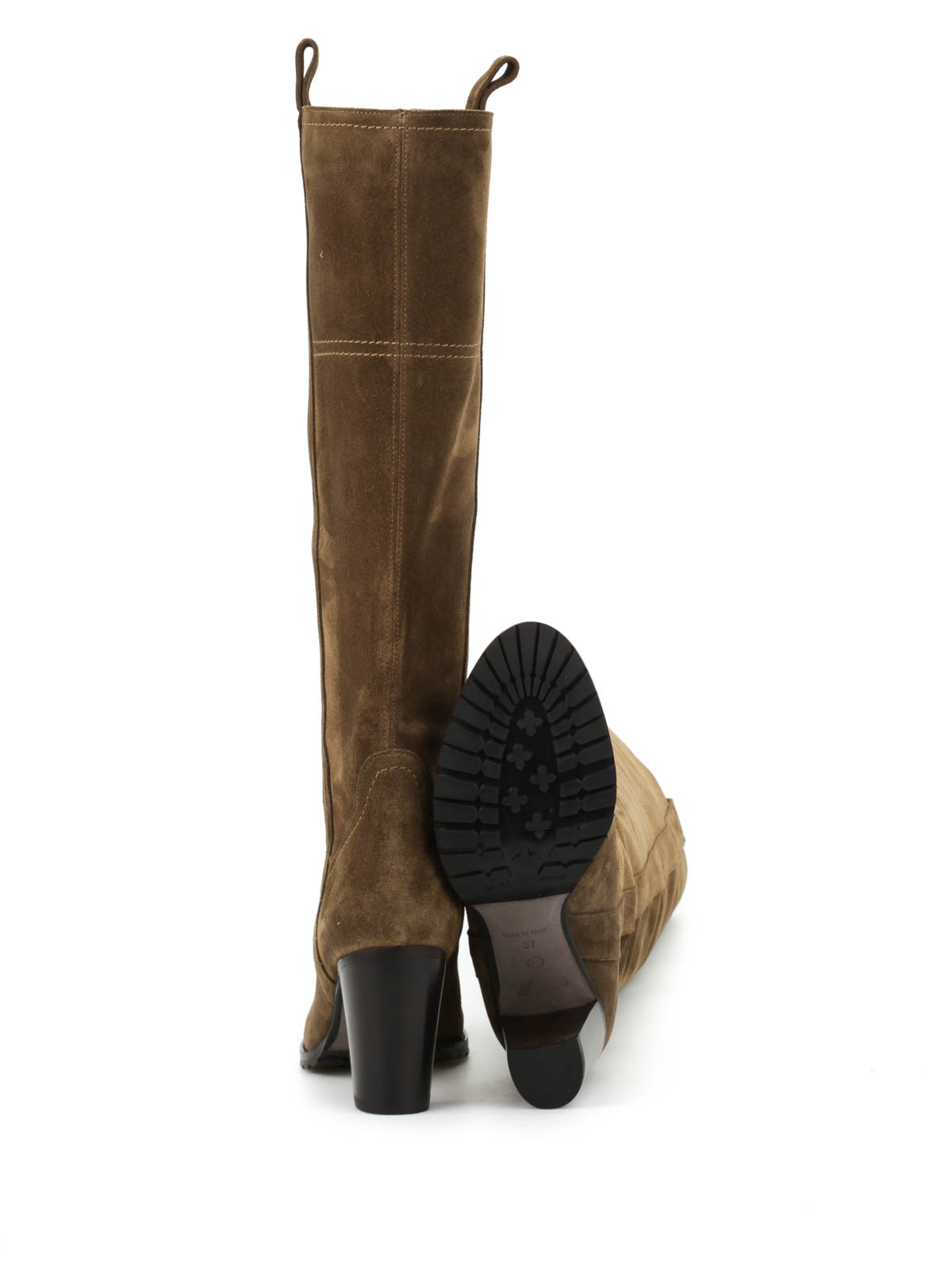 Suede boots by D\'Archive by L\'Autre Chose - boots | iKRIX