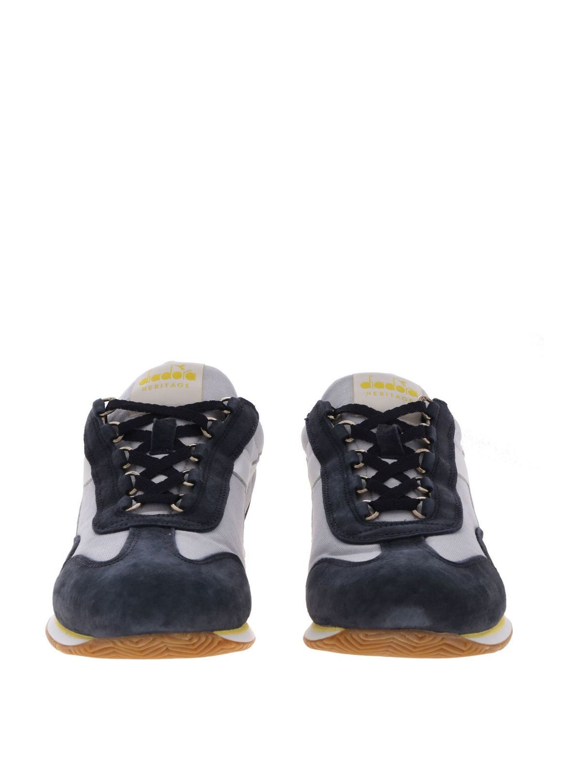 Equipe H Canvas Stone Wash sneakers