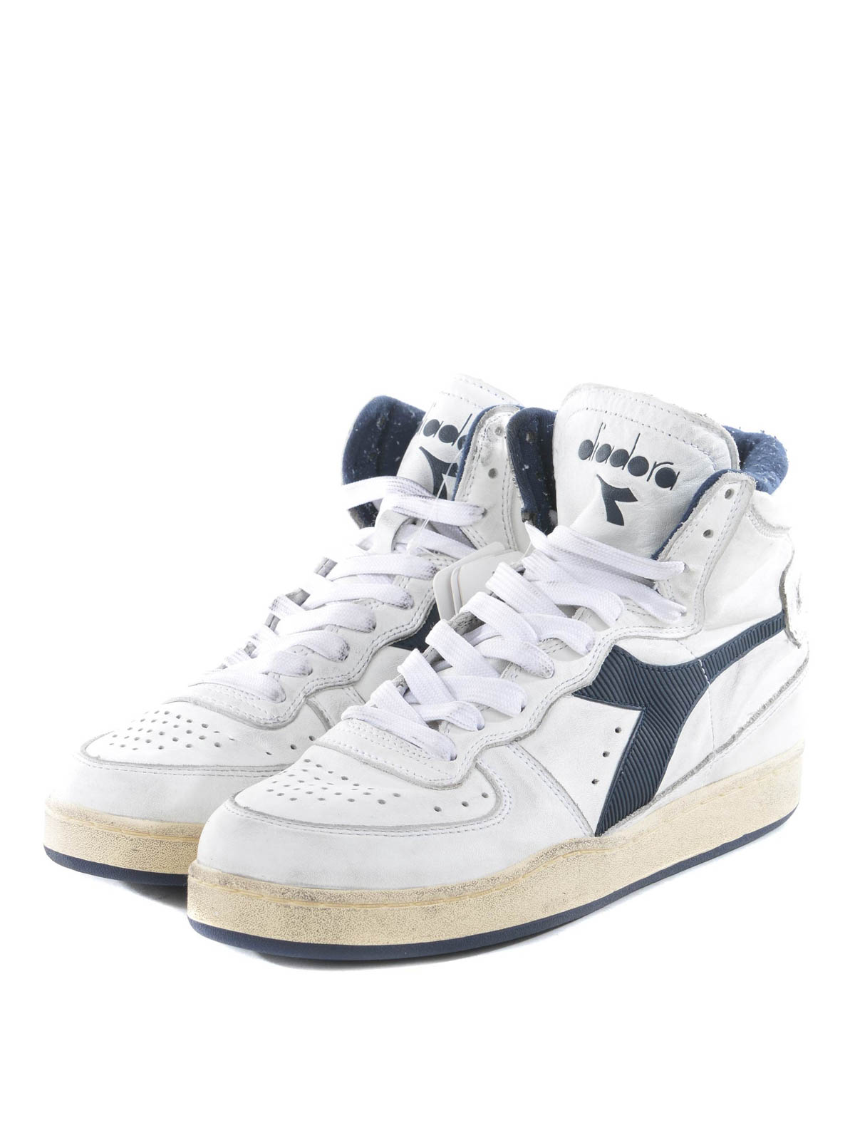 Diadora Heritage Mi Basket Used Sneakers Trainers