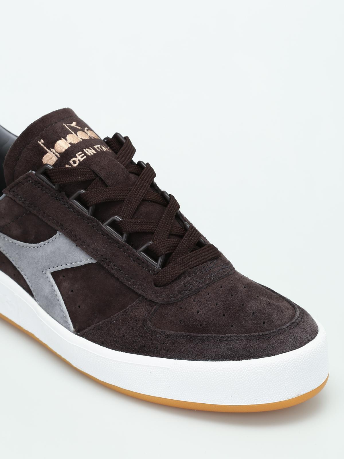 Diadora - B.Elite suede sneakers
