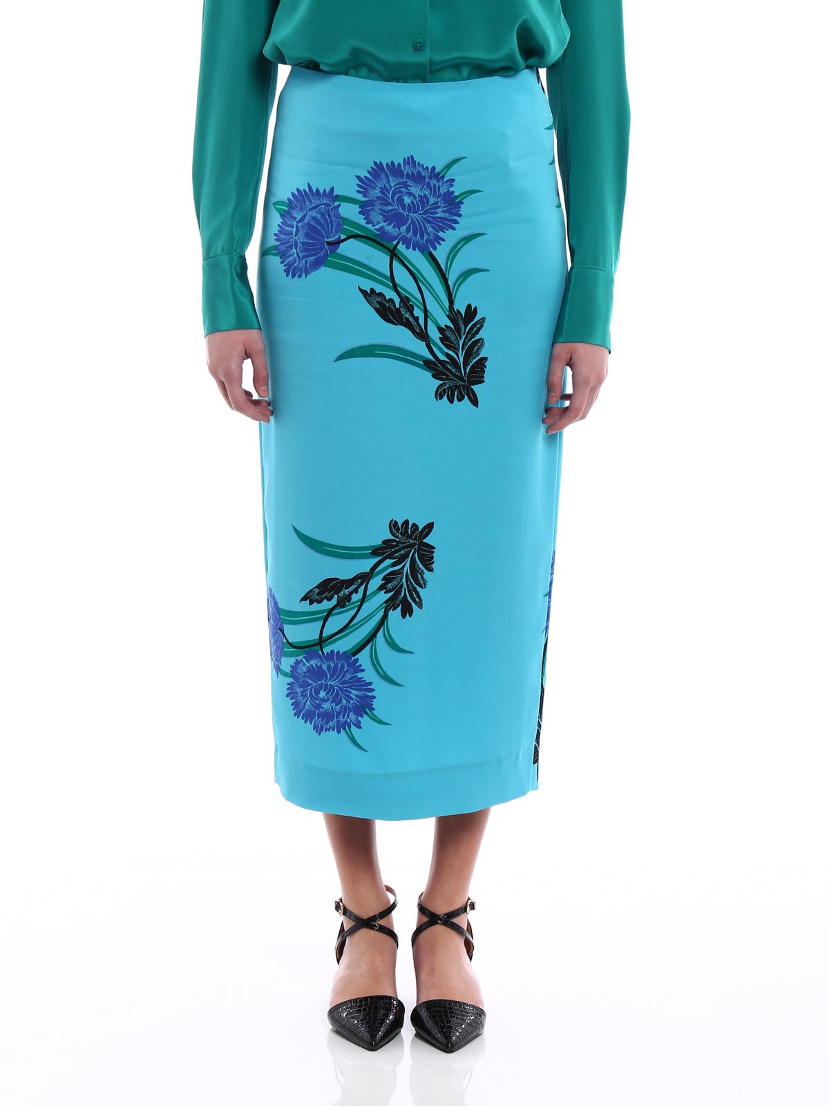 e74babec0 iKRIX Diane von Furstenberg: Knee length skirts & Midi - Farma tailored  midi pencil skirt
