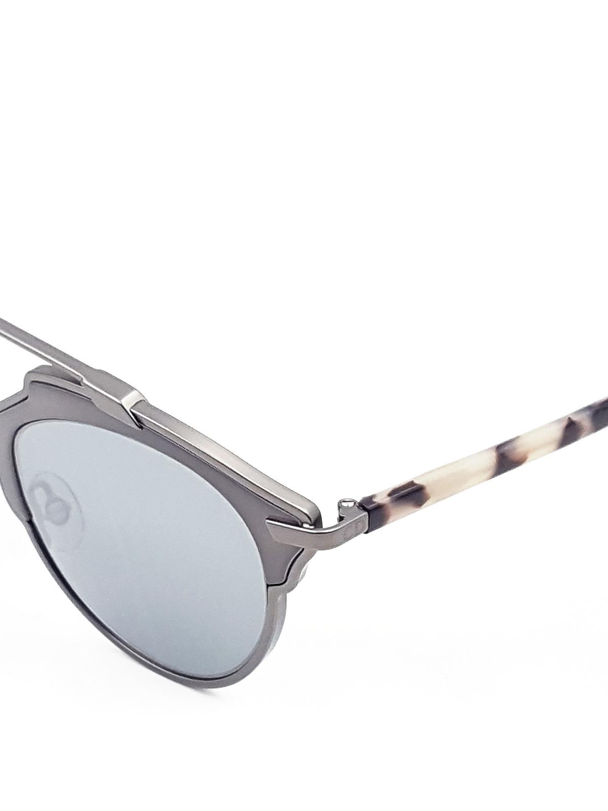 sonnenbrille so real metallic von dior sonnenbrillen. Black Bedroom Furniture Sets. Home Design Ideas