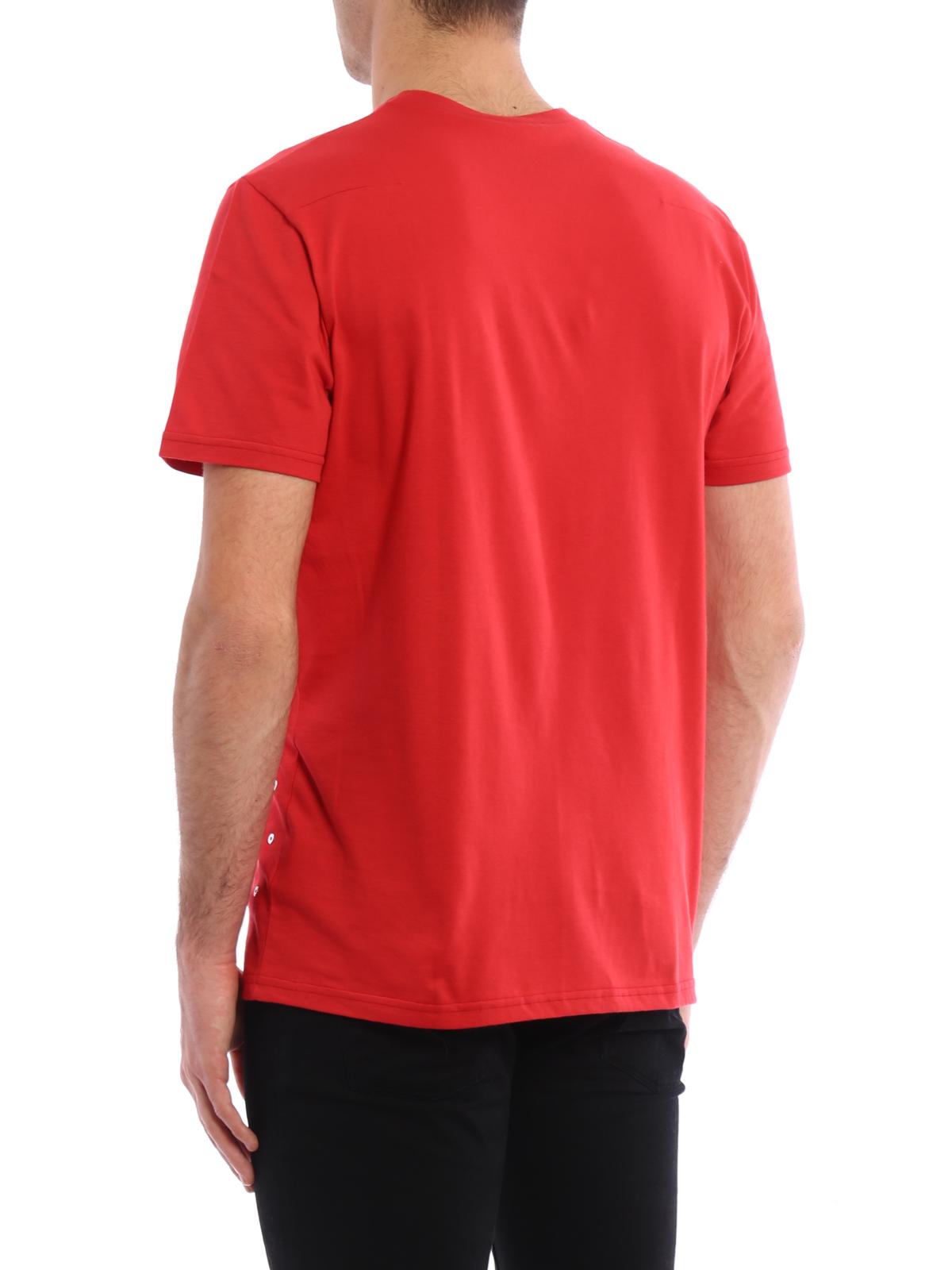t shirt rouge pour homme de dior t shirts ikrix ikrix. Black Bedroom Furniture Sets. Home Design Ideas