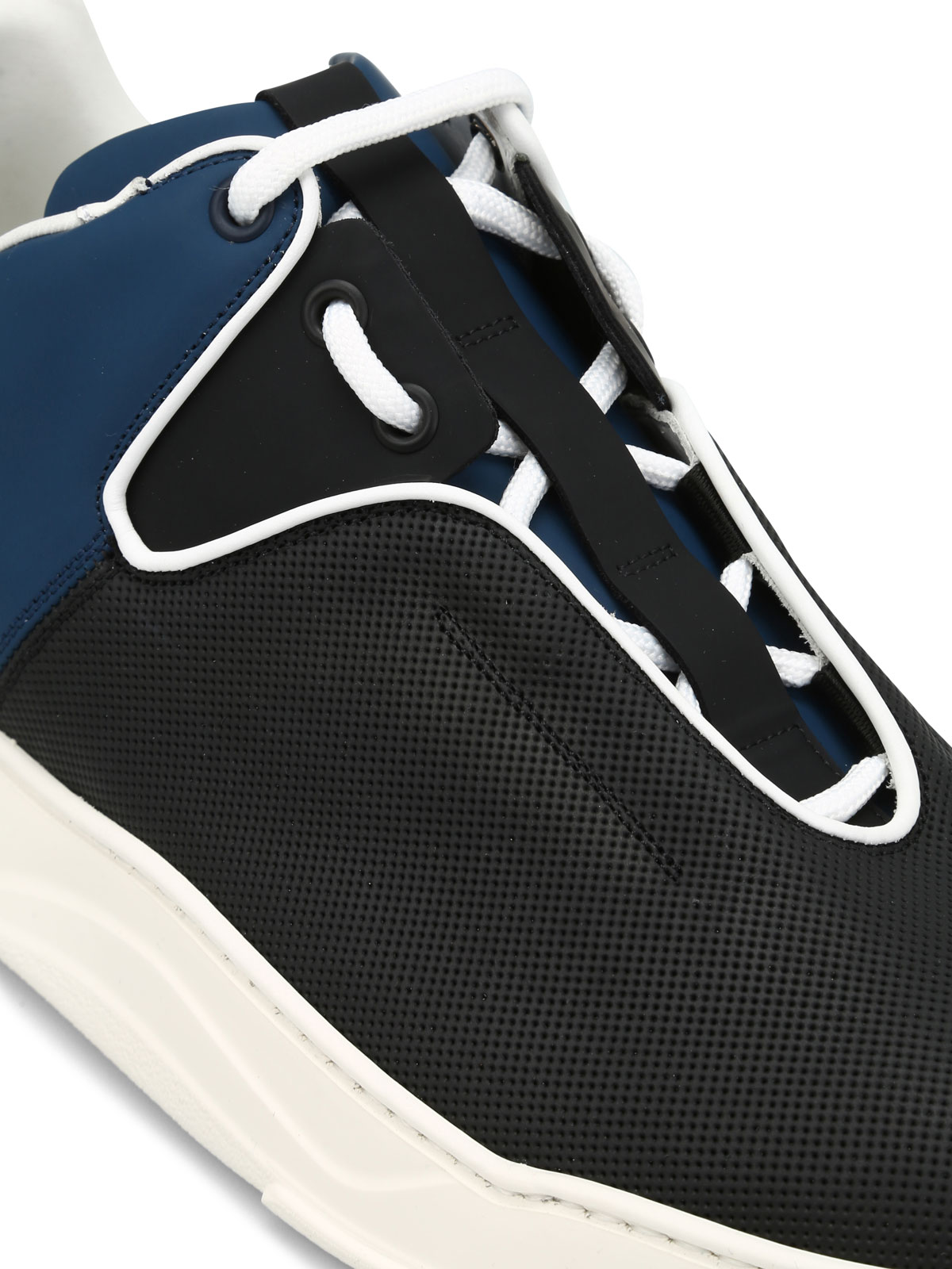Dior - B17 drilled leather sneakers