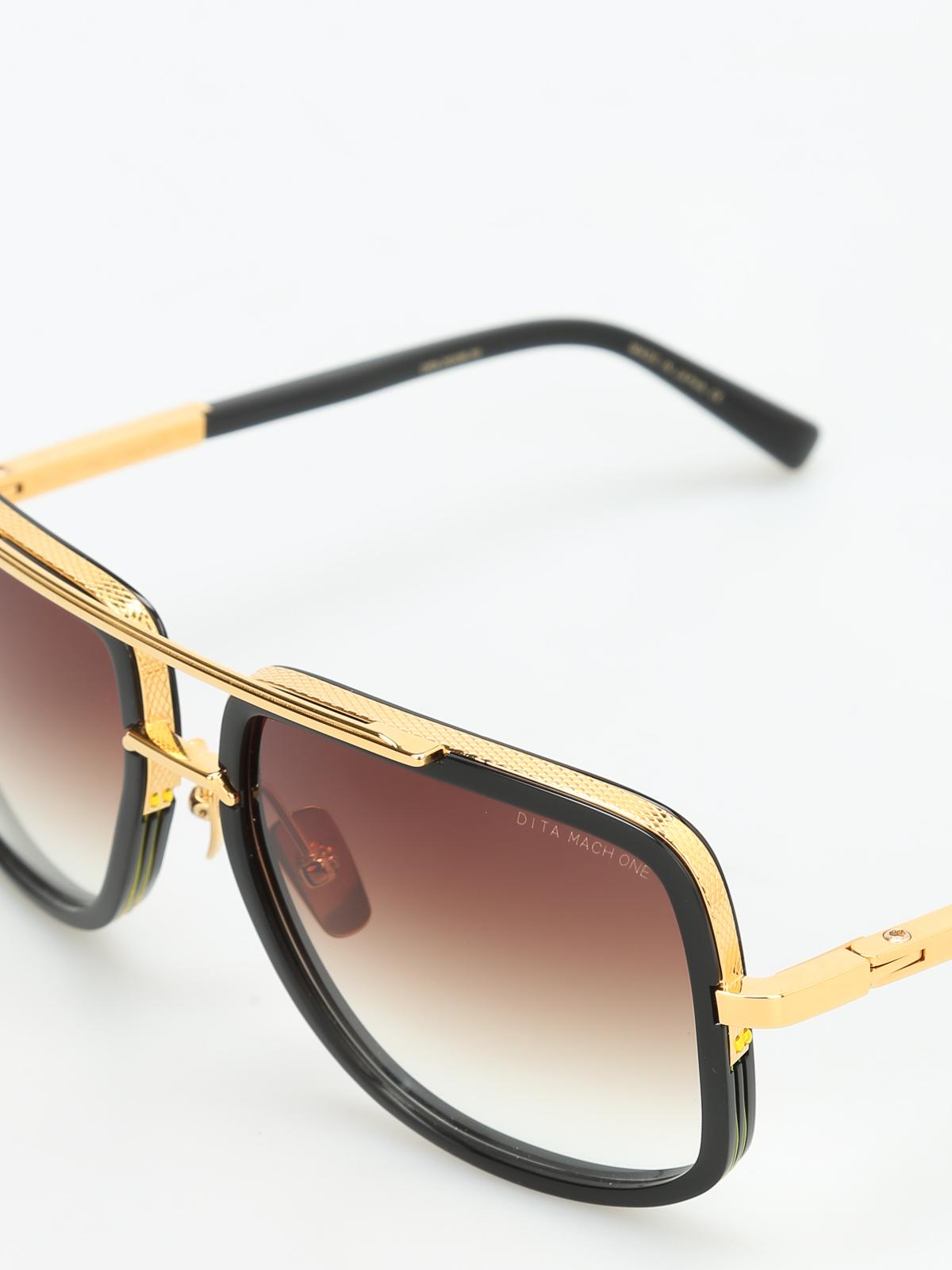 super populaire d089b 9a6cb Dita - Mach One sunglasses - sunglasses - DRX 2030B B ...