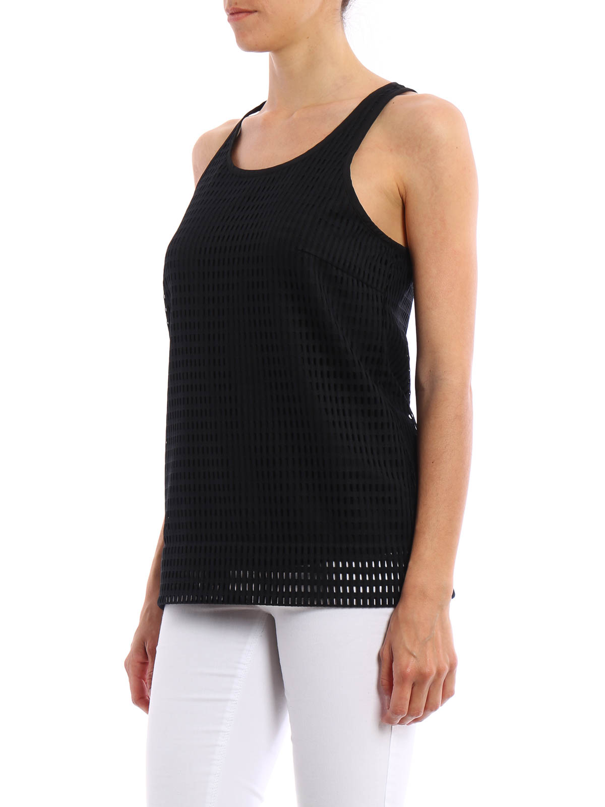Today's custom ladies tanks offer great styling, new colors and fashion fits. For many years, ladies were relegated to tank tops designed for men that had a boxy square cut that makes you look thicker and broader shouldered.