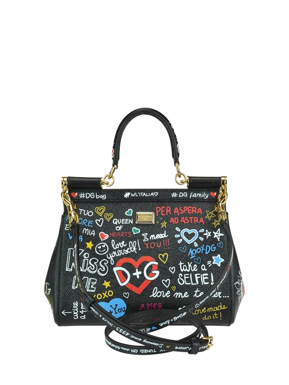 iKRIX DOLCE   GABBANA  bowling bags - Sicily mural printed Dauphine leather  bag 8ef143e479c29