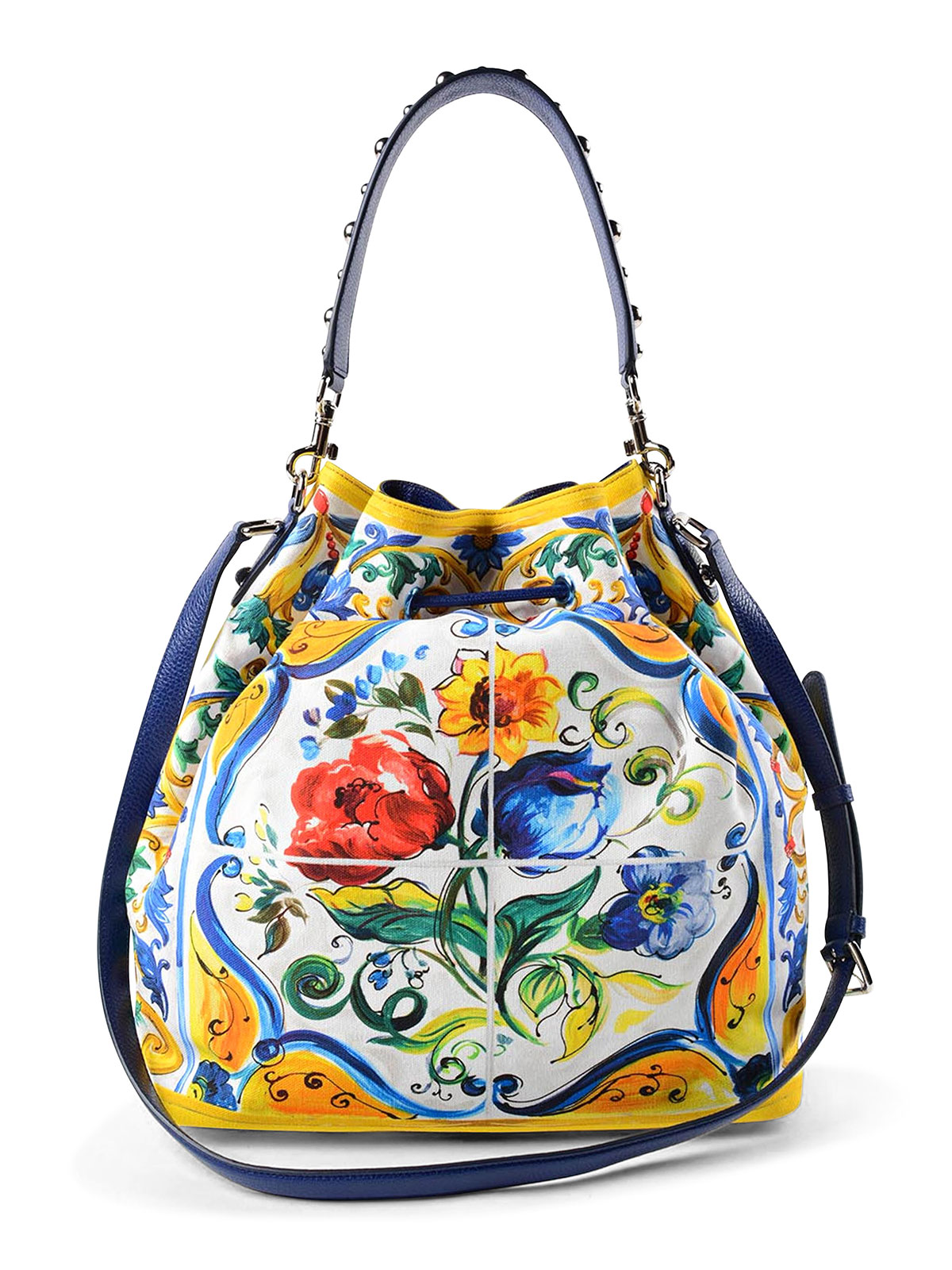 iKRIX DOLCE   GABBANA  Bucket bags - Maiolica canvas bucket bag 6284c03400f63