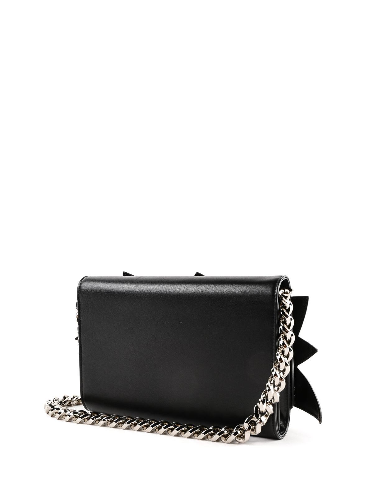taglia 40 42010 4e406 Dolce & Gabbana - Clutch portafoglio con patch Boom e ...