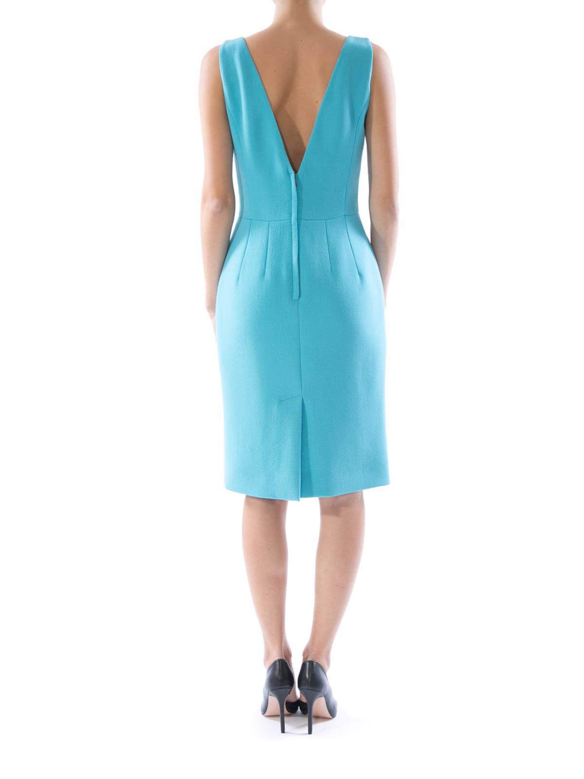 Vestido azul dolce gabbana