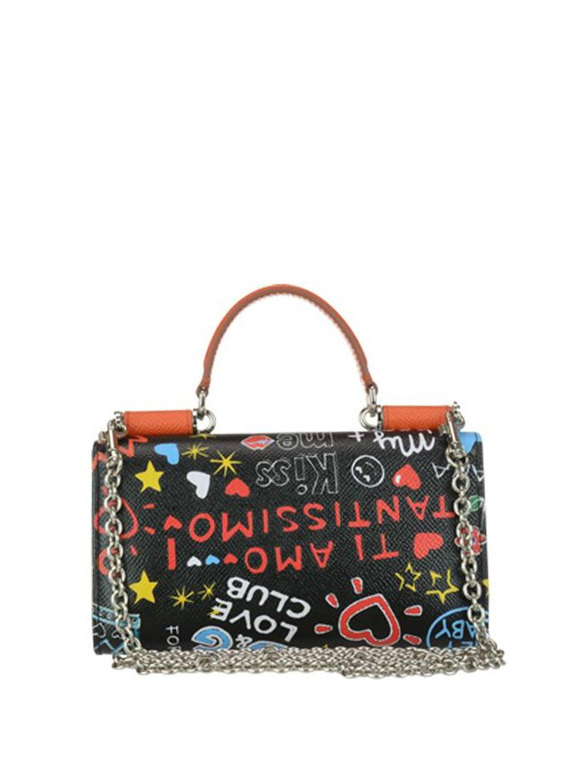 Dolce & Gabbana Mural printed leather mini bag g2Vuf