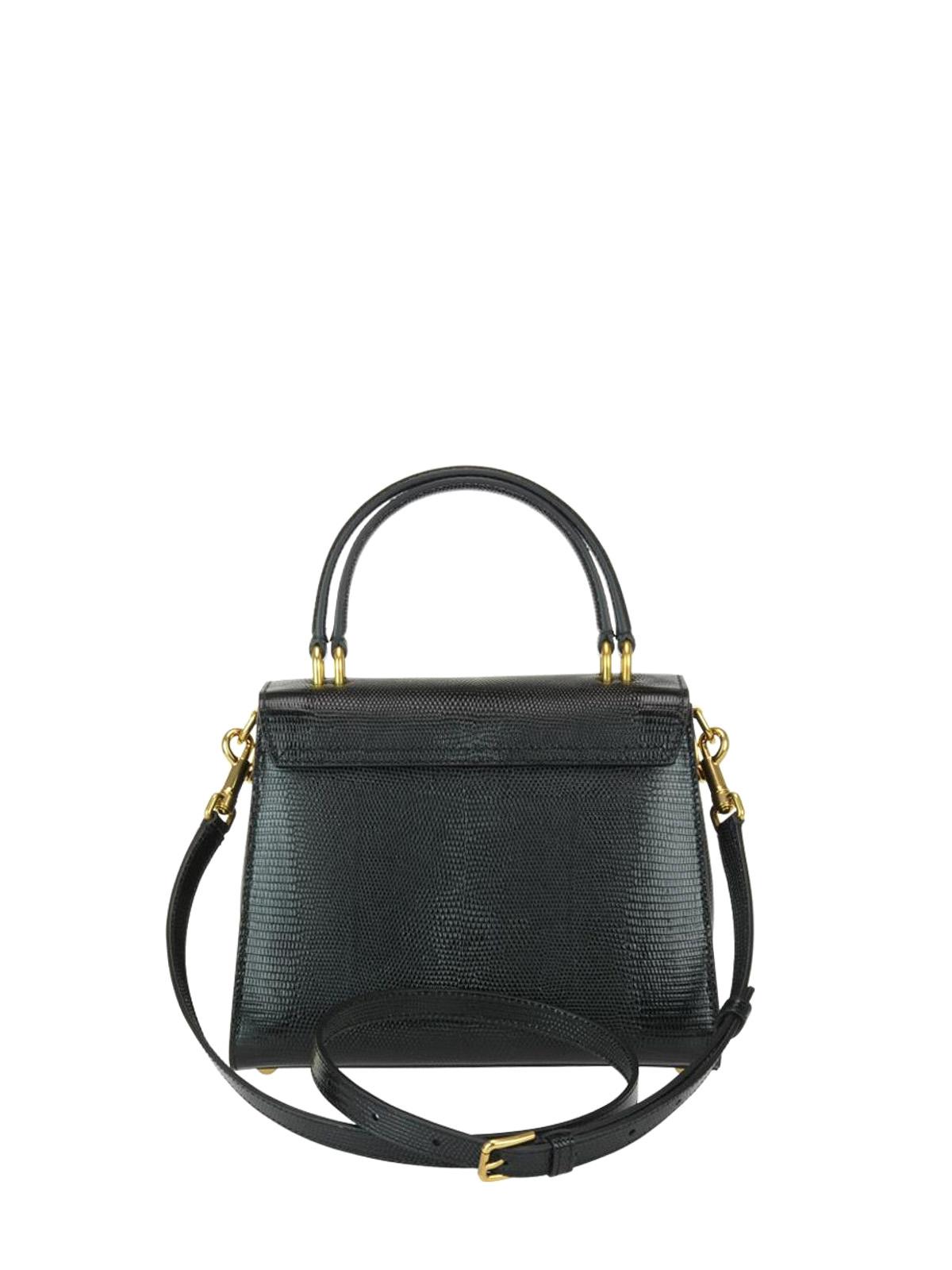 Dolce & Gabbana Borsa Welcome pelle stampa iguana borse