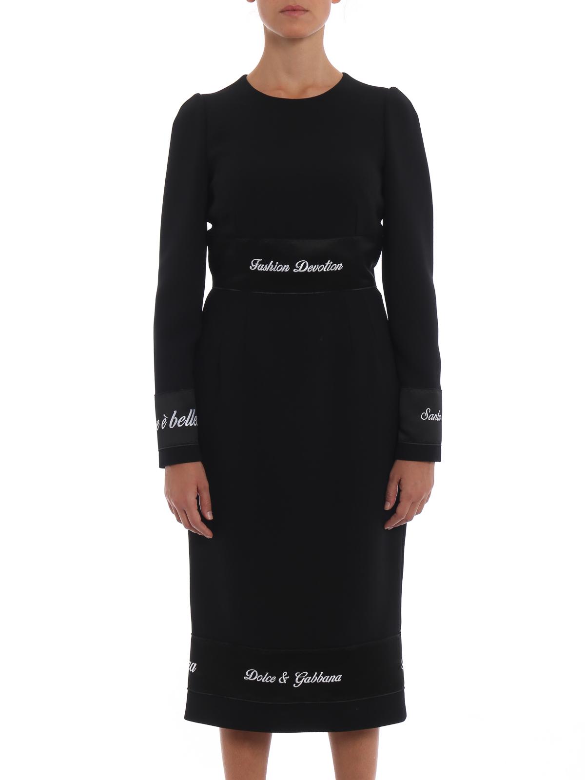 180ec457b043 Dolce   Gabbana - Abendkleid - Schwarz - Abendkleider - F6B3NZFU2X5N0000