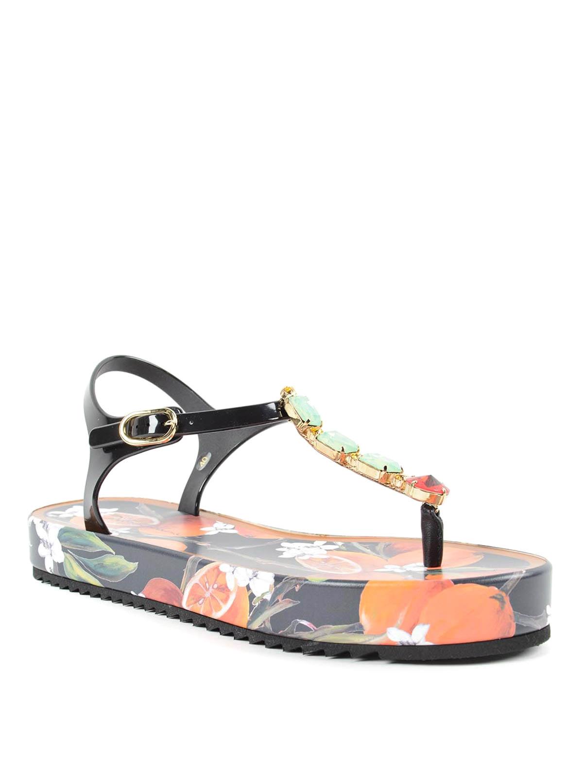 ca7aa6b5ed51 Dolce   Gabbana - Beachwear sandals - flip flops - CW0035 A4374 80999