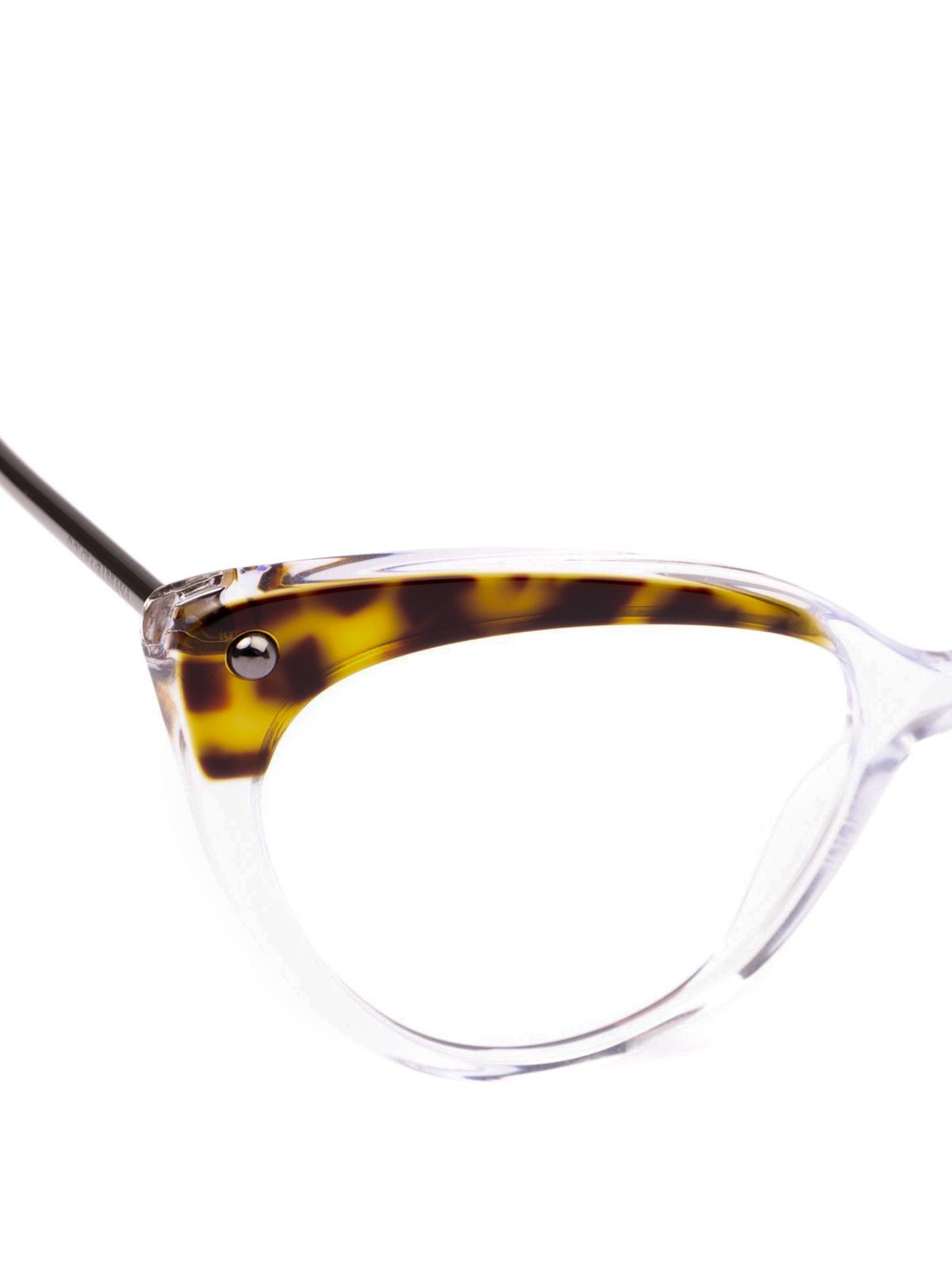 3d13a8d83ad3 iKRIX DOLCE & GABBANA: Glasses - Animal print top cat eye optical glasses