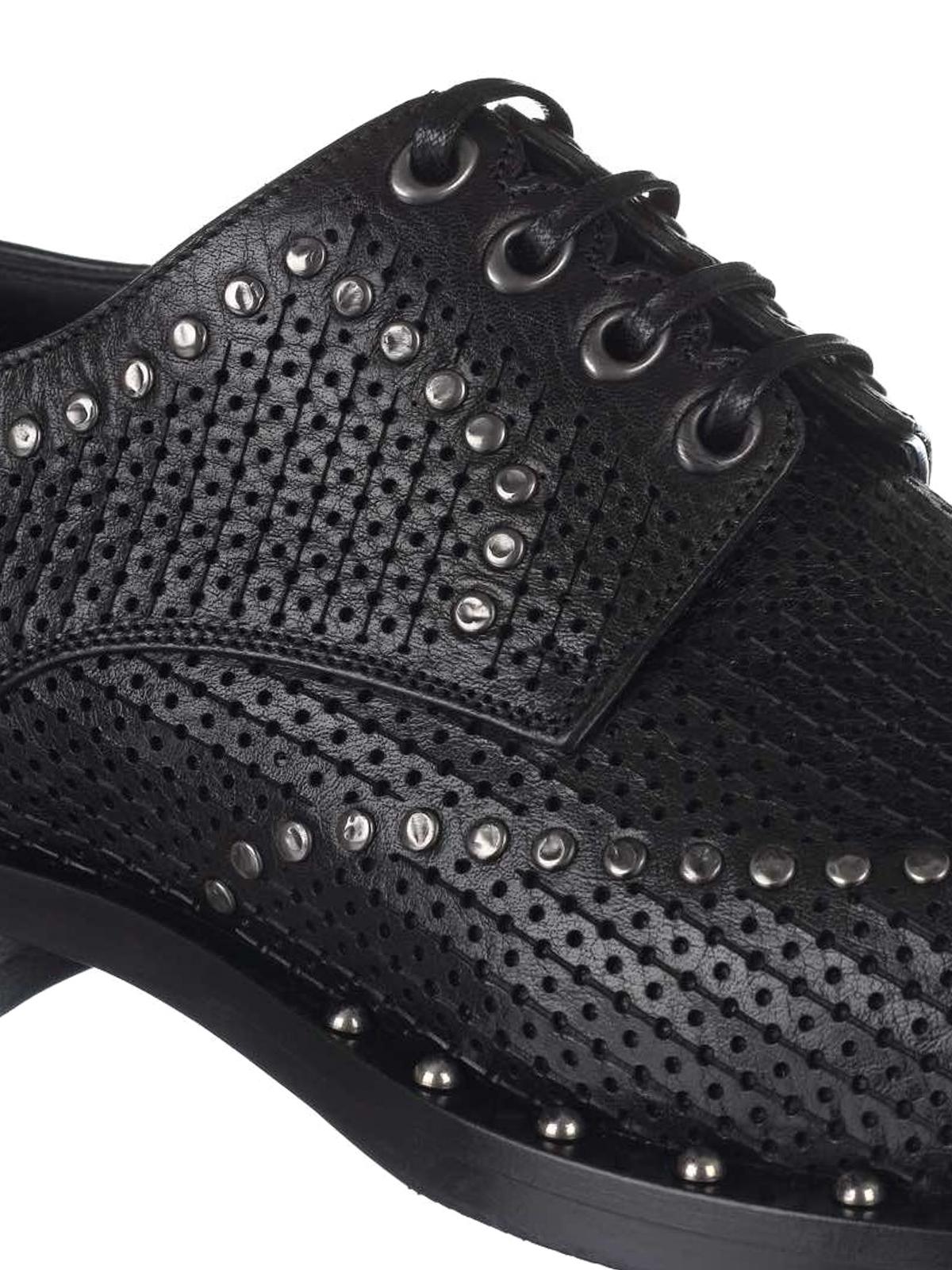 f01fbce3 iKRIX DOLCE & GABBANA: lace-ups shoes - Marsala leather derby shoes