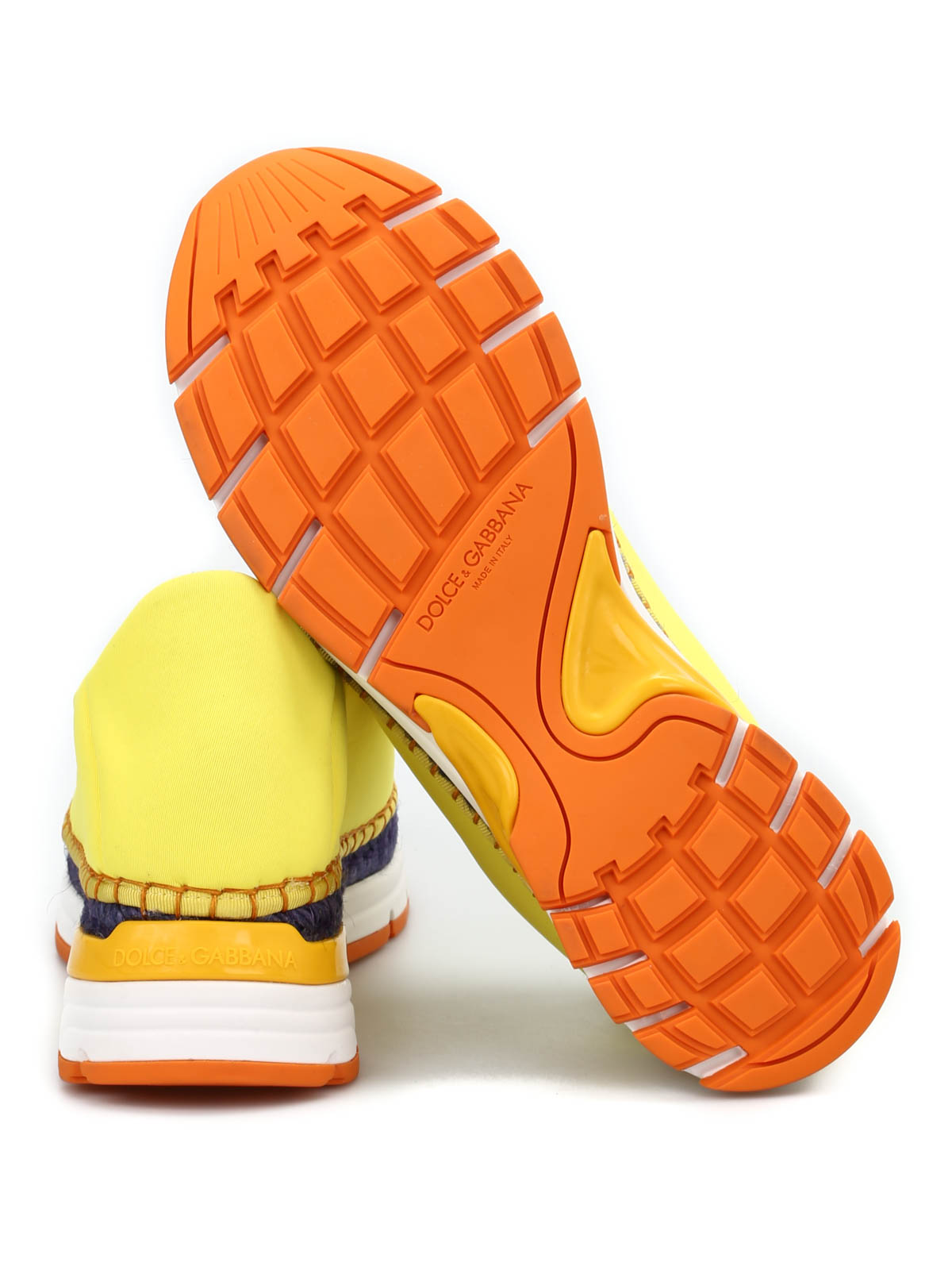 8da0e840ca5a6 iKRIX DOLCE   GABBANA  Loafers   Slippers - Wedge slippers with rhinestones