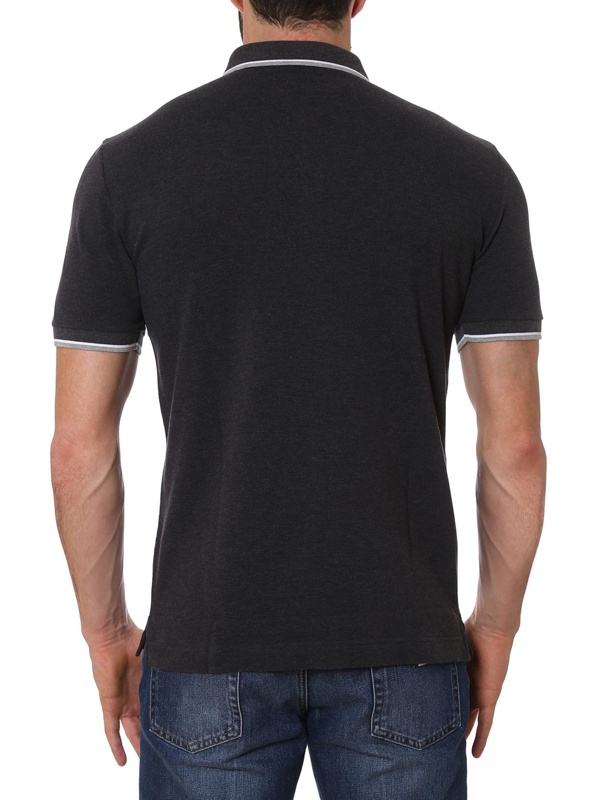 e27c586ff iKRIX DOLCE & GABBANA: polo shirts - Crown embroidered polo shirt