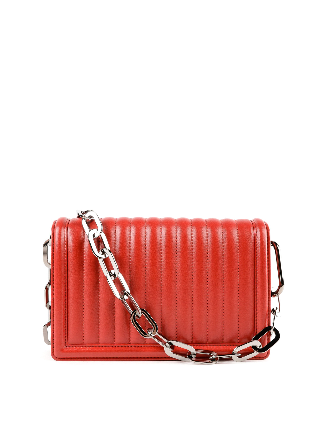 iKRIX DOLCE   GABBANA  shoulder bags - DG Girls embellished red quilted  leather bag 9cee38186911e