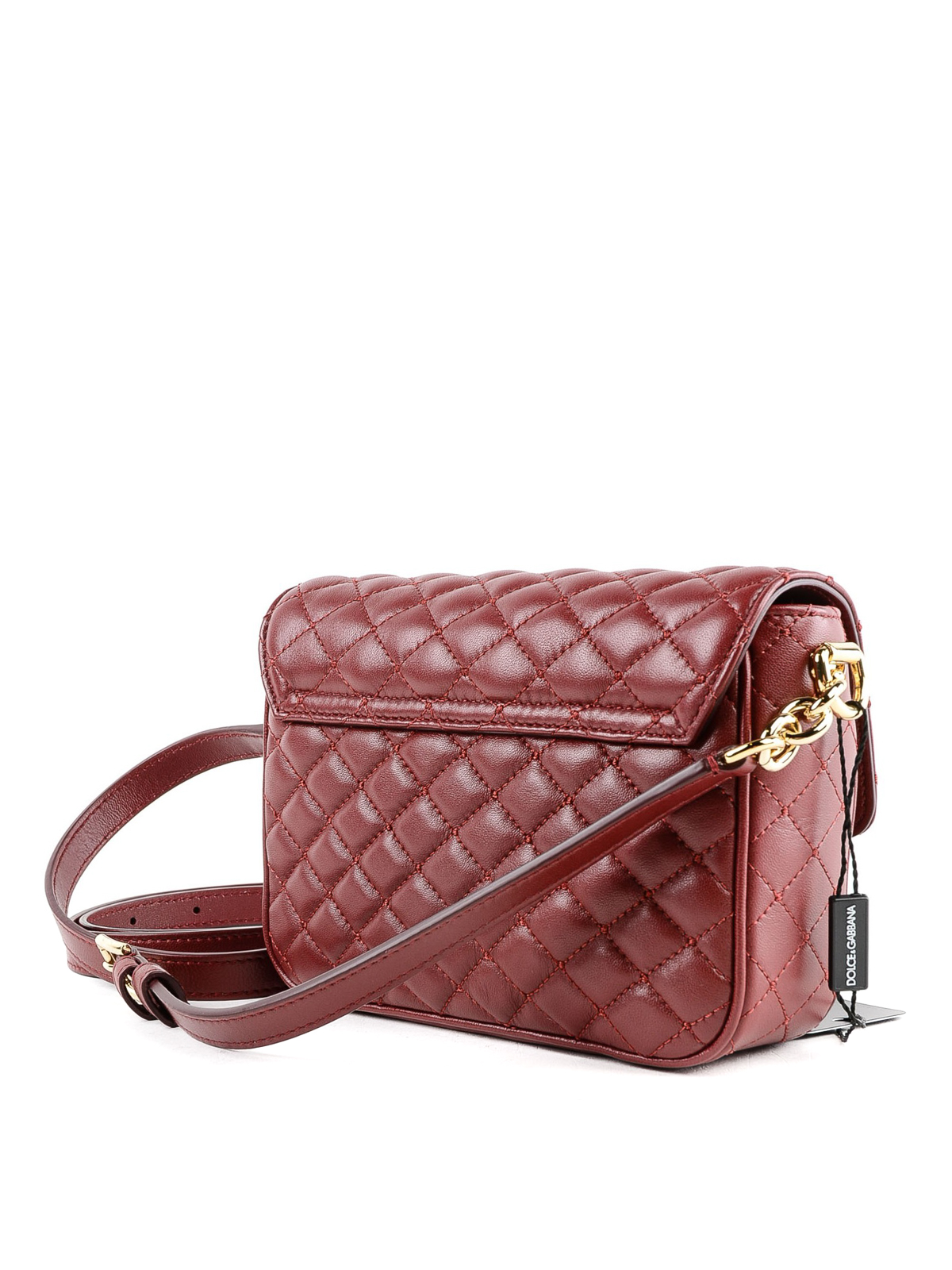 aa5296392d iKRIX DOLCE   GABBANA  shoulder bags - Quilted leather DG Millennials red  small bag