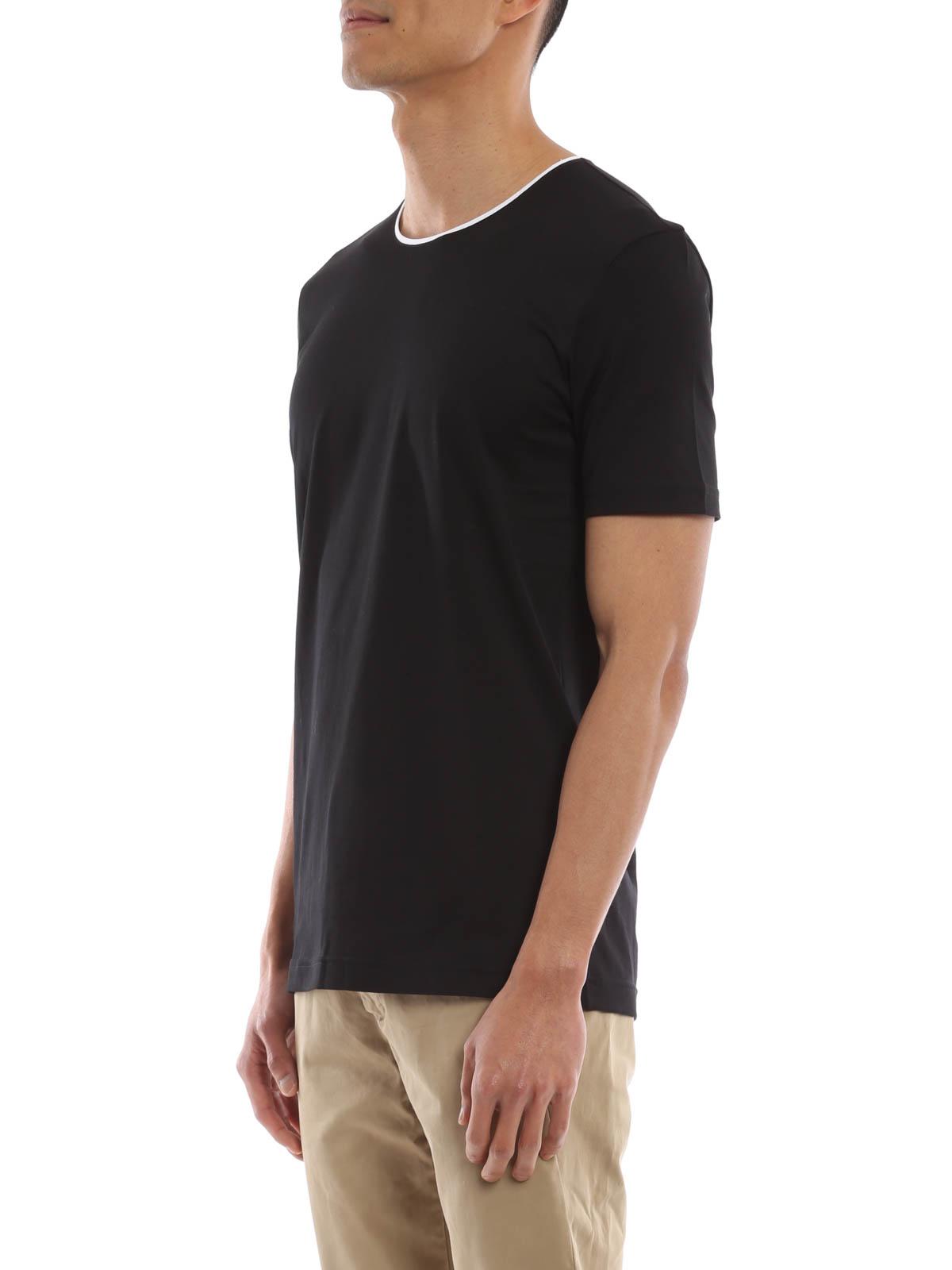 dolce gabbana cotton t shirt t shirts g8fx6t g7fto n0000. Black Bedroom Furniture Sets. Home Design Ideas