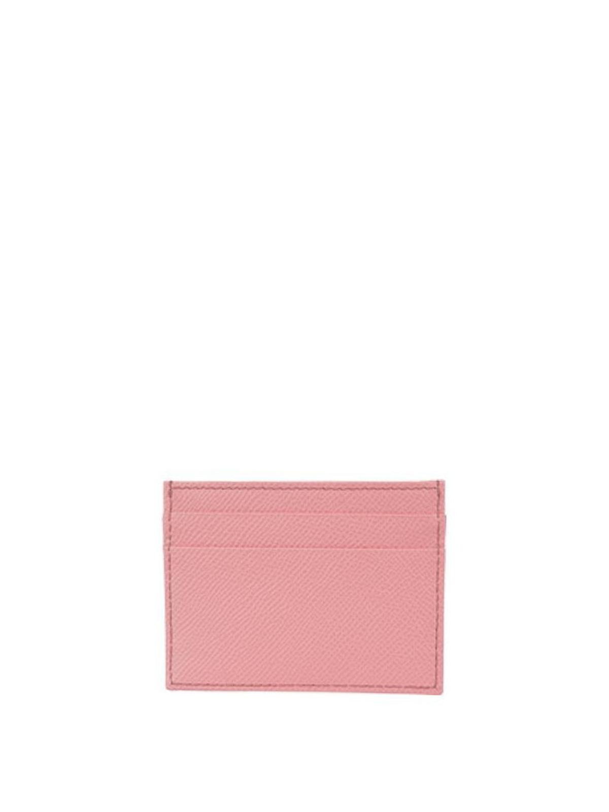 Dolce & Gabbana Rhinestone logo card holder exyLb9XQun