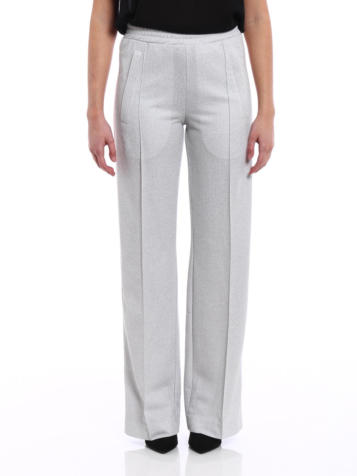 e807593e5d8c4d Donna · Uomo. iKRIX DONDUP: pantaloni casual - Pantaloni jogging in lurex  argento