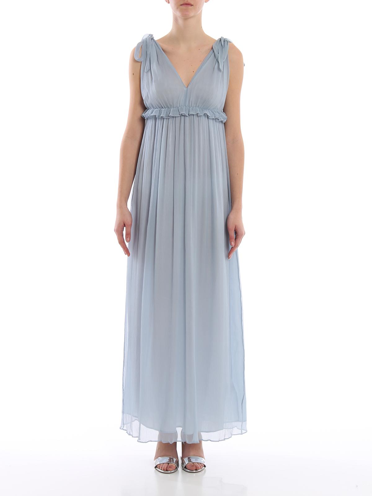 Dondup - Abendkleid - Hellblau - Abendkleider - A9SF9DXXX9