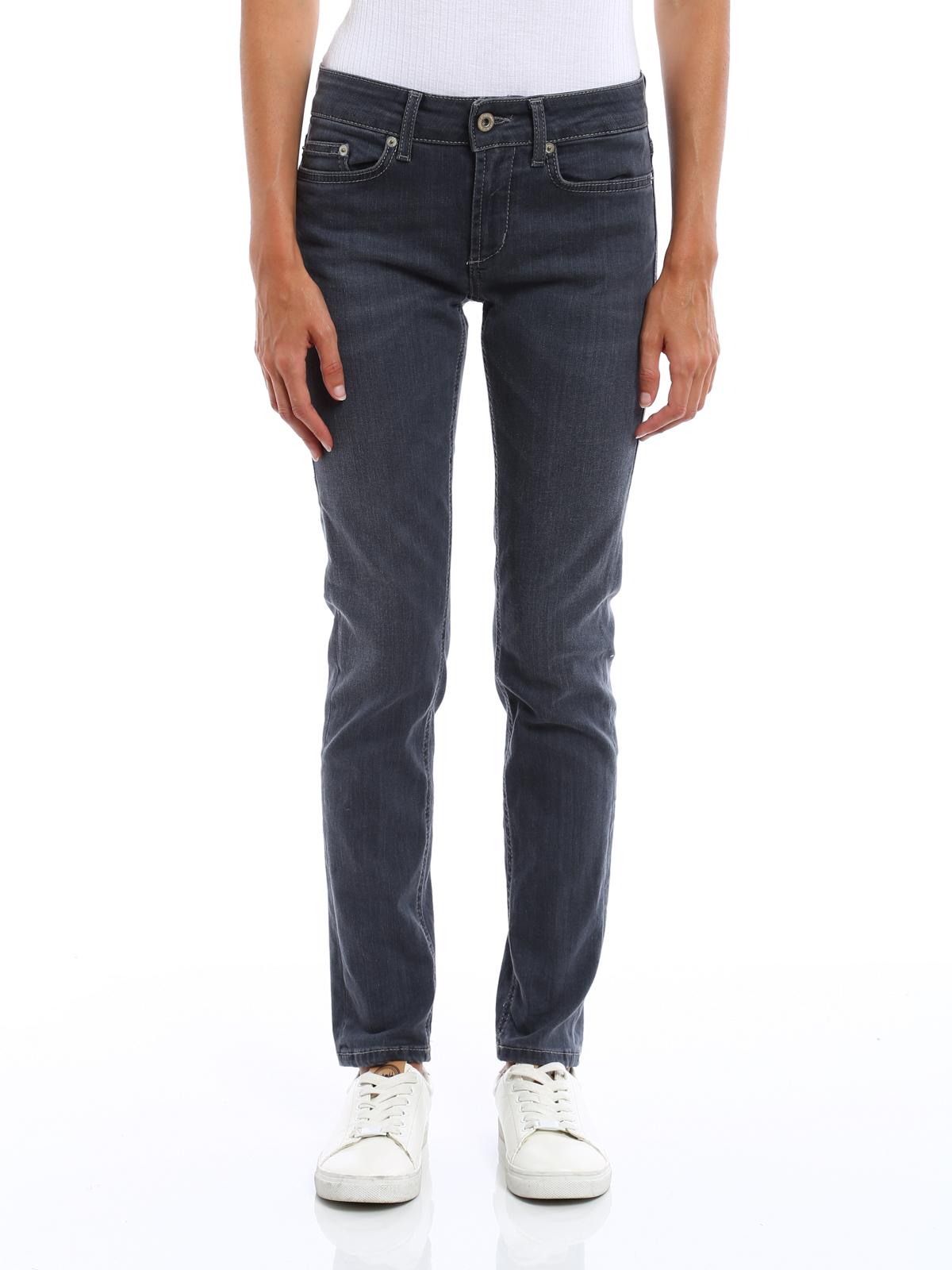 monroe low waist skinny jeans by dondup skinny jeans ikrix. Black Bedroom Furniture Sets. Home Design Ideas