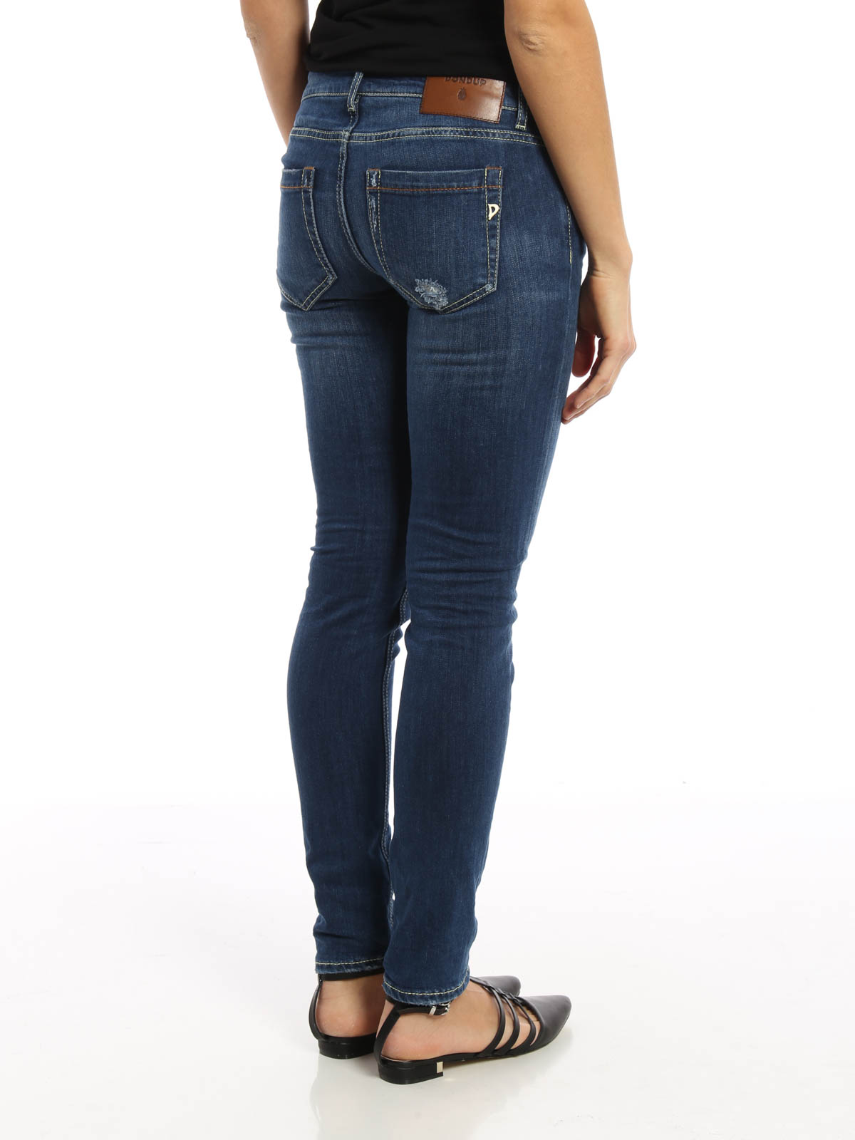 Dondup high-waisted jeans Genuine For Sale fO2C86Hdec