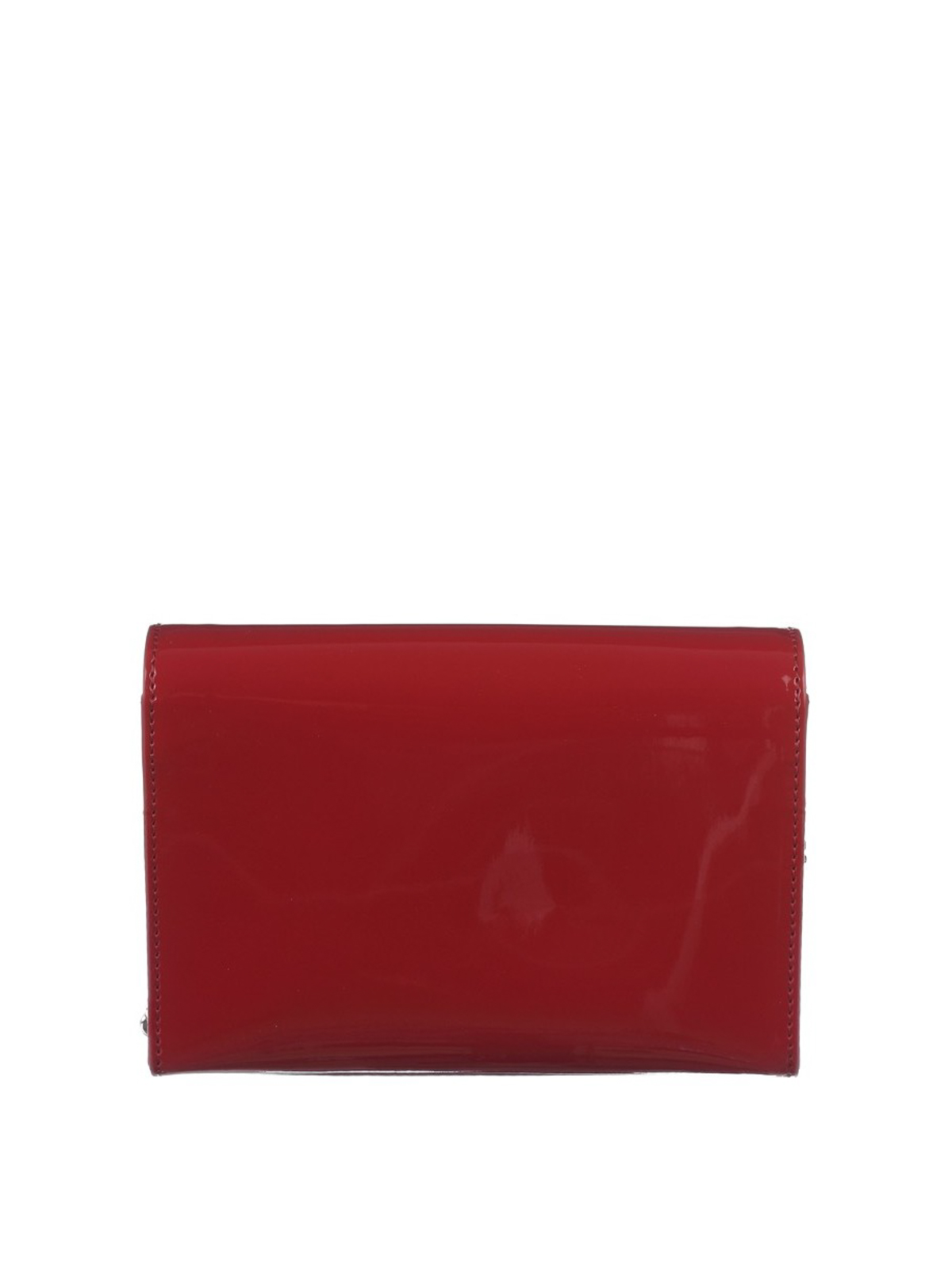 Dsquared2 Disco red leather cross body bag 7ZDSJguX