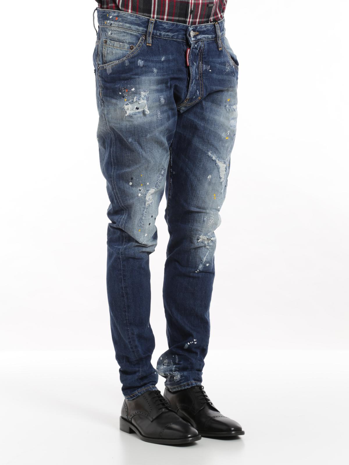 Dsquared2 - Classic Kenny Twist jeans - skinny jeans - S71LA0950 ... 2c89c444922f