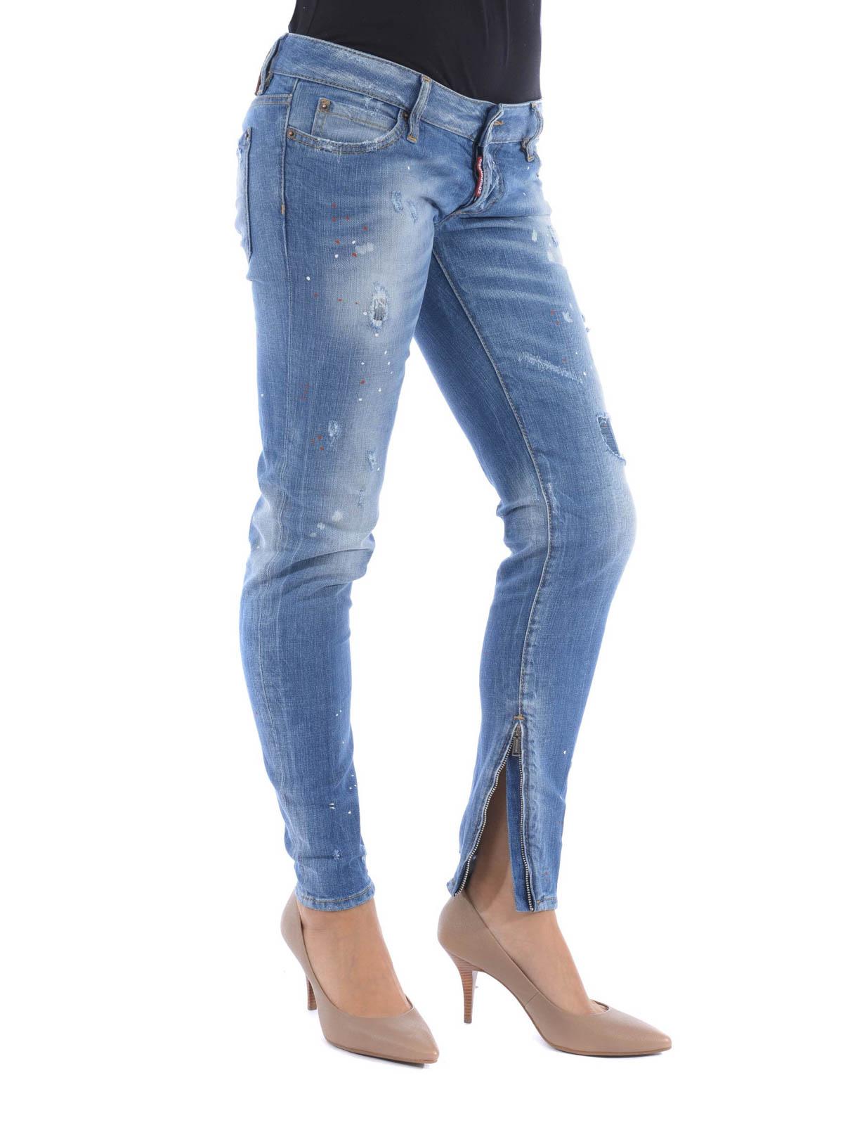 Dsquared2 - Jeans Skinny Jean - jeans skinny - S72LA0826 S30144 470 3cb43502b788
