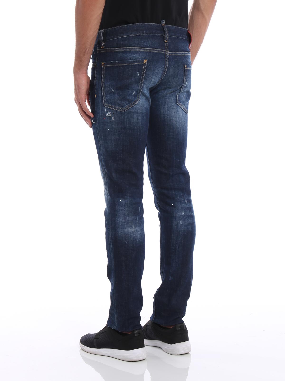 Dsquared2 - Jean Skinny - Slim - Jeans skinny - S71LB0364 S30342 470 0b1abbb08858